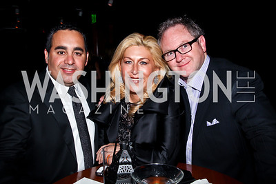 Max Holtzma, Shari Yost Gold, Jason Gold. Photo by Tony Powell. Midnight Down Under. The Hamilton. January 21, 2013