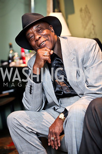 "Blues Legend George ""Buddy"" Guy. Photo by Tony Powell. Midnight Down Under. The Hamilton. January 21, 2013"