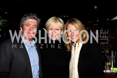 Peter Godwin, Joanna Coles, Holly Whidden. Photo by Tony Powell. Midnight Down Under. The Hamilton. January 21, 2013