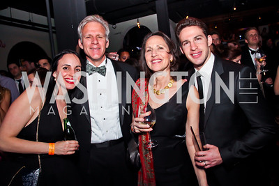 Lee Moser, Michael, Sally and Yoav Oren. Photo by Tony Powell. Midnight Down Under. The Hamilton. January 21, 2013