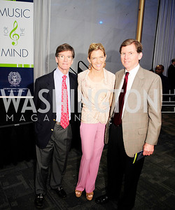 Wiley Buchanan,Janis Buchanan,Bill Milliken,May 18,2013,Music for the Mind Reception,Kyle Samperton