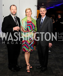Bill Rebeck,Andria Wister,Howard Federoff,May 18,2013,Music for the Mind Reception,Kyle Samperton
