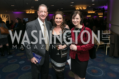 David Loewenstein, Kim Band, Mary Vargas Photo by Alfredo Flores. NARAL Pro-Choice America's Roe v. Wade 40th Anniversary Dinner. Hilton Washington Hotel. February 5, 2013