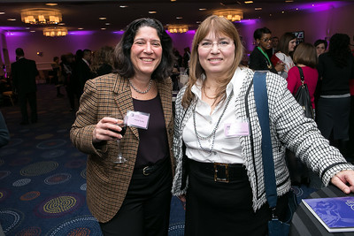 Maria Vullo, Cassandra Lentchner. Photo by Alfredo Flores. NARAL Pro-Choice America's Roe v. Wade 40th Anniversary Dinner. Hilton Washington Hotel. February 5, 2013