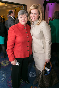 Nancy Keenan, Stephanie Cutter. Photo by Alfredo Flores. NARAL Pro-Choice America's Roe v. Wade 40th Anniversary Dinner. Hilton Washington Hotel. February 5, 2013