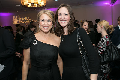 Nonie Greene, Jennifer Milley. Photo by Alfredo Flores. NARAL Pro-Choice America's Roe v. Wade 40th Anniversary Dinner. Hilton Washington Hotel. February 5, 2013