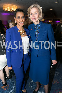 Rep. Donna Edwards, Rep. Lois Capps. Photo by Alfredo Flores. NARAL Pro-Choice America's Roe v. Wade 40th Anniversary Dinner. Hilton Washington Hotel. February 5, 2013