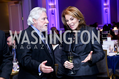 Jim LeBlanc, Teresa Carlson. Photo by Tony Powell. 2013 NDI Democracy Dinner. Ritz Carlton. December 10, 2013
