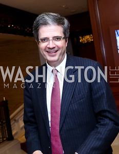 French Amb. Francois Delattre. Photo by Tony Powell. 2013 NDI Democracy Dinner. Ritz Carlton. December 10, 2013