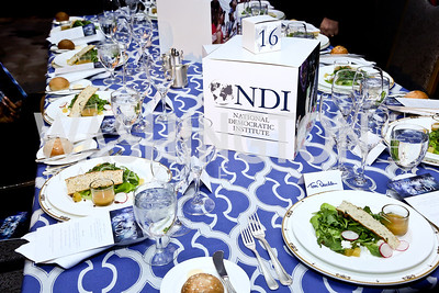 Photo by Tony Powell. 2013 NDI Democracy Dinner. Ritz Carlton. December 10, 2013