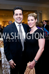 Khurrum and Candice Hasan. Photo by Tony Powell. 2013 NDI Democracy Dinner. Ritz Carlton. December 10, 2013