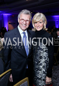 Tom and Linda Daschle. Photo by Tony Powell. 2013 NDI Democracy Dinner. Ritz Carlton. December 10, 2013