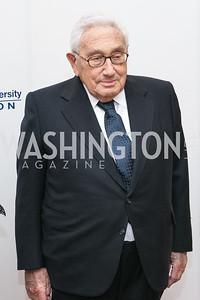 Henry Kissinger. National Defense University Foundation Awards. Photo by Alfredo Flores. Ritz-Carlton Hotel. March 13, 2013.