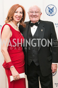 Jennifer London, Jack London. National Defense University Foundation Awards. Photo by Alfredo Flores. Ritz-Carlton Hotel. March 13, 2013.