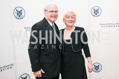 Joe Brown, Sue Brown. National Defense University Foundation Awards. Photo by Alfredo Flores. Ritz-Carlton Hotel. March 13, 2013.