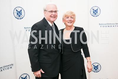 Joe Brown, Sue Brown. National Defense University Foundation Awards. Photo by Alfredo Flores. Ritz-Carlton Hotel. March 13, 2013.