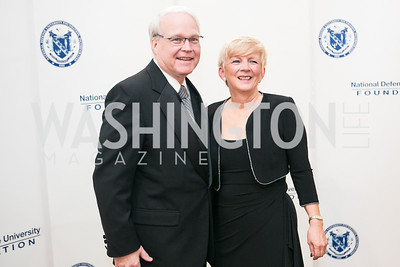 Ira Nigro, Pat Nigro. National Defense University Foundation Awards. Photo by Alfredo Flores. Ritz-Carlton Hotel. March 13, 2013.