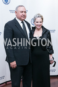 Charles Wald, Marilyn Wald. National Defense University Foundation Awards. Photo by Alfredo Flores. Ritz-Carlton Hotel. March 13, 2013.