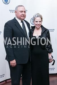 Charles Wald, Marilyn Wald. National Defense University Foundation Awards. Photo by Alfredo Flores. Ritz-Carlton Hotel. March 13, 2013.
