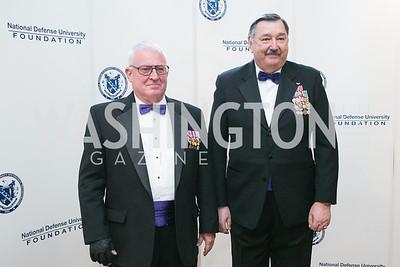 James Randles, Jeff Roy. National Defense University Foundation Awards. Photo by Alfredo Flores. Ritz-Carlton Hotel. March 13, 2013.