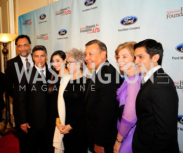 Jimmy Smits,Esai Morales,Aimee Garcia,Rita Moreno,Felix Sanchez,Merel Gulia,Nicholas Gonzalez,September 30,2013,National Foundation for  The Arts' Noche de Gala,Kyle Samperton