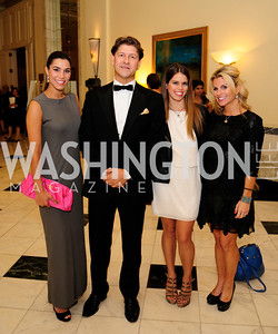 Reem Sadik,Lyndon Boozer,Adrienne Watson,Adrienne Elrod,September 30,2013,National Foundation for  The Arts' Noche de Gala,Kyle Samperton