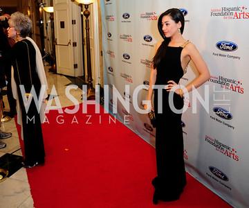 Rita Moreno,Aimee Garcia,September 30,2013,National Foundation for  The Arts' Noche de Gala,Kyle Samperton