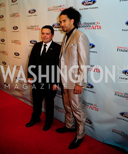 Joe Avila,Dallas King,September 30,2013,National Foundation for  The Arts' Noche de Gala,Kyle Samperton