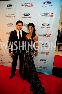 Nicholas Gonzalez,Miss D.C. Bindhu Parmarthi,September 30,2013,National Foundation for  The Arts' Noche de Gala,Kyle Samperton