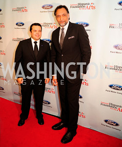 Joe Avila,Jimmy Smits,September 30,2013,National Foundation for  The Arts' Noche de Gala,Kyle Samperton