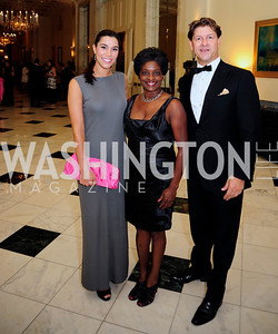 Reem Sadik,Mignon Clyburn,Lyndon Boozer,September 30,2013,National Foundation for  The Arts' Noche de Gala,Kyle Samperton