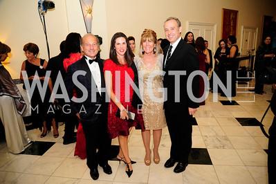 Paul Zevnik,Veronica Sarukhan,Ginny Grenham.Arturo Sarukhan,September 30,2013,National Foundation for  The Arts' Noche de Gala,Kyle Samperton
