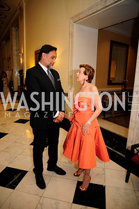 Jimmy Smits,Adrienne Arsht,September 30,2013,National Foundation for  The Arts' Noche de Gala,Kyle Samperton