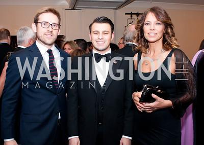 Philip Bednarczyk, NAIF president John Viola, MEP Elisabetta Gardini