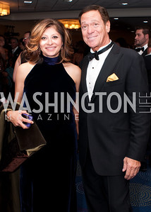 The two Masters of Ceremony Maria Bartiromo and  actor Joe Piscopo