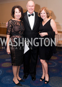 Elissa Ruffino, Dr. Terry Simon and Debbie Simon