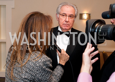 NAIF honoree Roberto Colaninno gives and interview