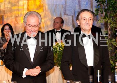 Roberto Colaninno and Ambassador Claudio Bisogniero