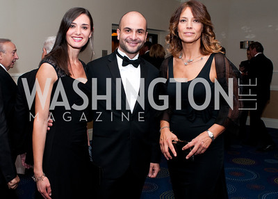 Emanuela Menichetti, Stefano Itri and European Parlaiment member Elisabetta Gardini