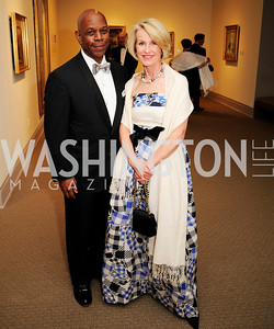 Walter Oliver,Cathy Jones,April 26,2013,National  Museum of Women in the Arts  26th Annual Spring Gala,Kyle Samperton