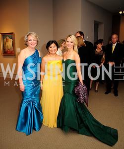 Diane Casey-Landry,Sharon Lee Stark,Sarah Sands,April 26,2013,National  Museum of Women in the Arts  26th Annual Spring Gala,Kyle Samperton
