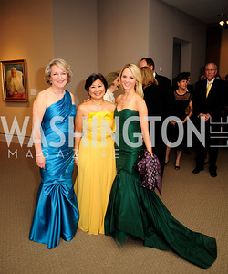 Diane Casey-Landry,Sharon Lee Stark,Sarah Sands,April 26,2013,National  Museum of Women in the Arts  26th Annual Spring Gala,Kyle Samperton