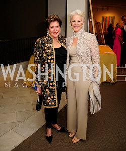 Liz Dubin,Gina Porten,April 26,2013,National  Museum of Women in the Arts  26th Annual Spring Gala,Kyle Samperton