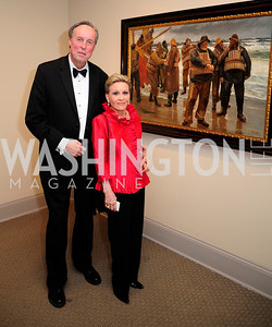 Paul Carp,Vibeke Lofft,April 26,2013,National  Museum of Women in the Arts  26th Annual Spring Gala,Kyle Samperton