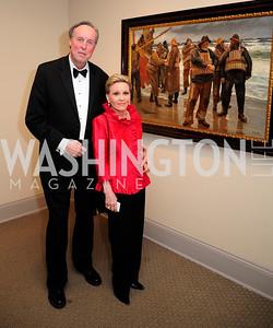 Paul Carp,Vibeke Lofft,April 26,2013,National  Museum of Women in the Arts  26th Annual Spring Gala,Kyle Samperton