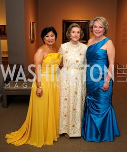 Sharon  Lee Stark,Wilhemina Holladay, Diane Casey-Landry,April 26,2013,National  Museum of Women in the Arts  26th Annual Spring Gala,Kyle Samperton