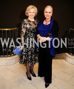 Fran Usher,Judy Esfandiary,April 26,2013,National  Museum of Women in the Arts  26th Annual Spring Gala,Kyle Samperton