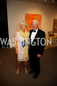 Connie Franklin,Joe Franklin,April 26,2013,National  Museum of Women in the Arts  26th Annual Spring Gala,Kyle Samperton