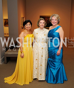 Sharon Lee Stark,Wilhemina Holladay, Diane Casey-Landry,April 26,2013,National  Museum of Women in the Arts  26th Annual Spring Gala,Kyle Samperton