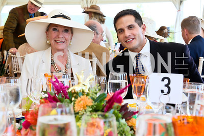 Rose Marie Bogley, Mike Lotus. Photo by Tony Powell. NSLM 2013 Benefit Polo Match and Luncheon. Llangollen Estate. September 15, 2013
